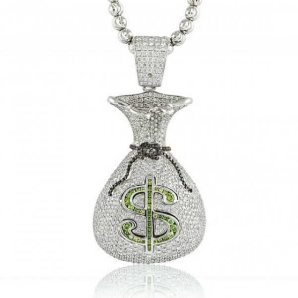 Moneybags Pendant